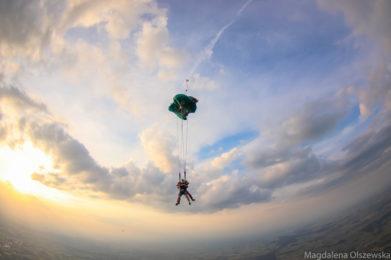 otwarcie spadochronu