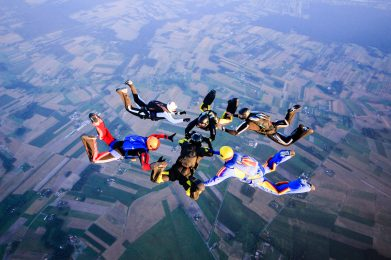 skoki spadochronowe chrcynno